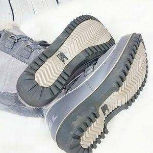 Sorel Shoes - Sorel Tivoli High ll Gray Lace Up Snow Boots
